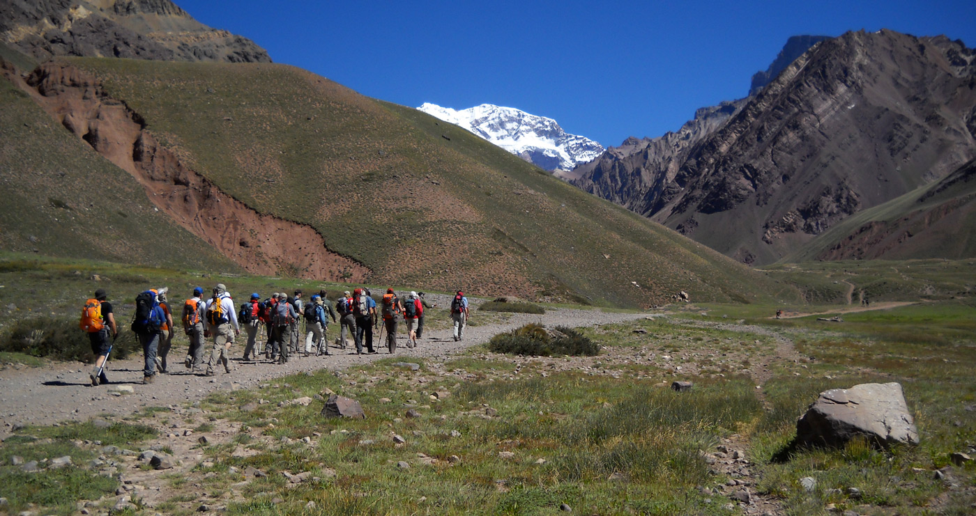 Aconcagua IFMGA mountain guides Andes Mountain GUides