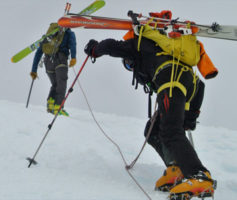 Andes Mountain Guides, Patagonia ski guides on Chile Volcanoes