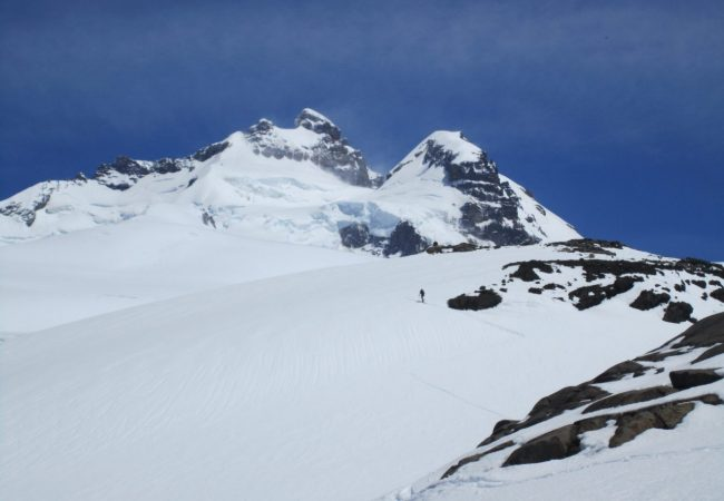 Andes Mountain Guides IFMGA guided ascents on Tronador